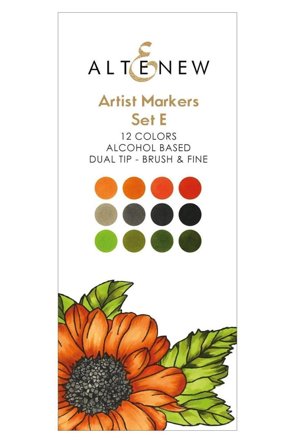 Altenew Artist Markers Set E | Serendipity Craft Boutique