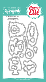 Avery Elle Monsters Die Set | Serendipity Craft Boutique