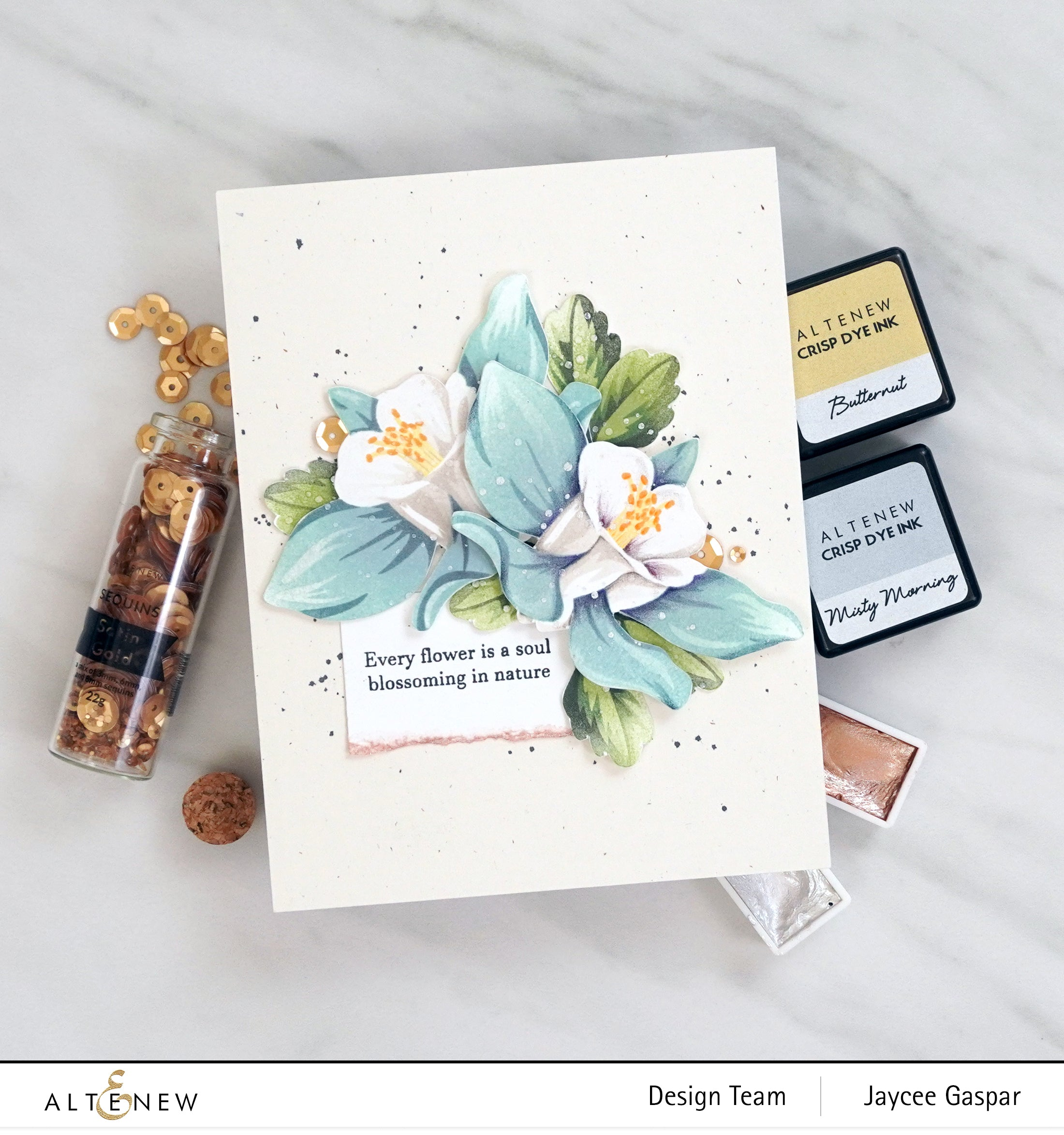 Altenew Build-A-Flower: Columbine  | Serendipity Craft Boutique