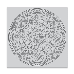 Hero Arts Mandala Bold Prints Stamp Set| Serendipity Craft Boutique