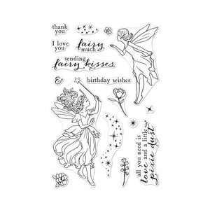 Hero Arts Fairy Kisses Stamp Set | Serendipity Craft Boutique