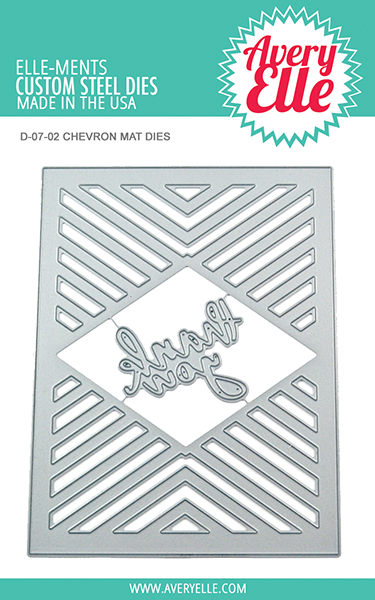 Avery Elle Chevron Mat | Serendipity Craft Boutique