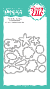 Avery Elle The Reef Die Set | Serendipity Craft Boutique