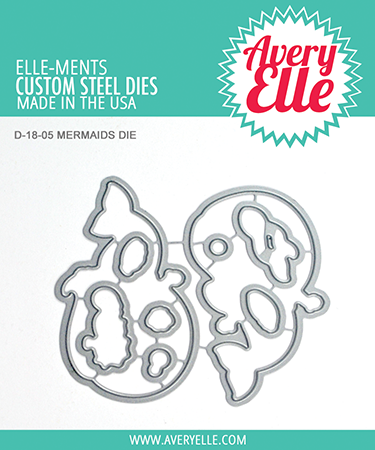 Avery Elle Mermaids Die Set | Serendipity Craft Boutique