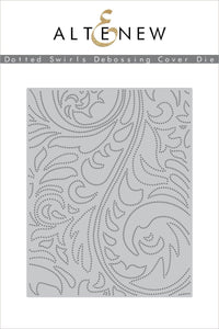 Altenew Dotted Swirls Debossing Cover Die  | Serendipity Craft Boutique