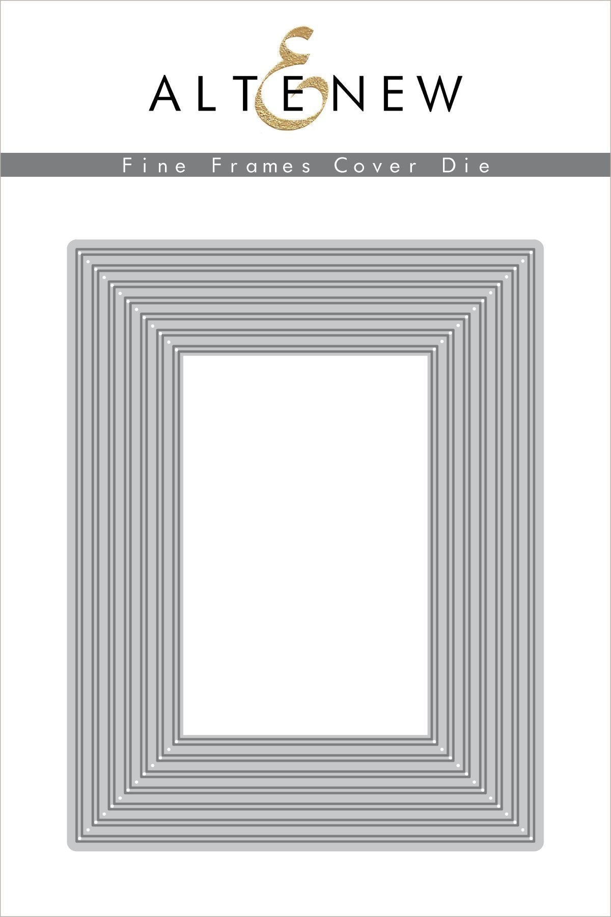 Altenew Fine Frames Cover Die Set | Serendipity Craft Boutique