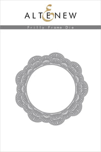 Altenew Frilly Frame Die | Serendipity Craft Boutique