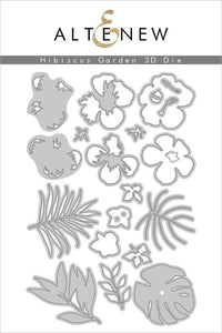 Altenew Hibiscus Garden 3D Die Set| Serendipity Craft Boutique