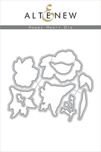 Altenew Happy Heart  Die Set | Serendipity Craft Boutique