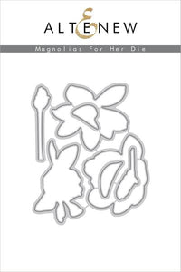 Altenew Magnolias For Her  Die Set | Serendipity Craft Boutique
