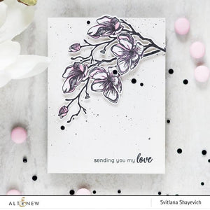 Altenew Dotted Blooms Stamp Set| Serendipity Craft Boutique