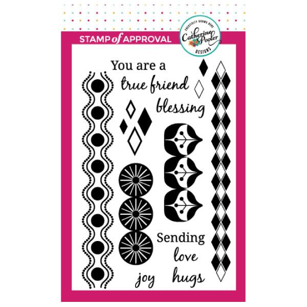 Catherine Pooler  Everyday Mod Stamp Set | Serendipity Craft Boutique