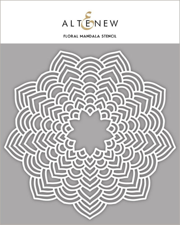 Altenew Floral Mandala Stencil | Serendipity Craft Boutique