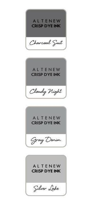 Altenew Gentleman's Gray Mini Ink Cube Set | Serendipity Craft Boutique