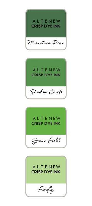 Altenew Green Valley Mini Ink Cube Set | Serendipity Craft Boutique