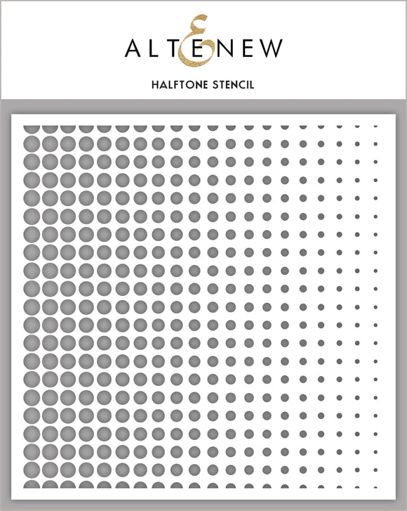 Altenew Halftone Stencil | Serendipity Craft Boutique