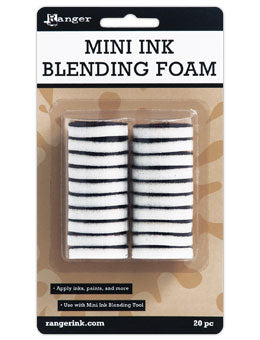 Ranger Mini Round Replacement Foam 20 pack | Serendipity Craft Boutique