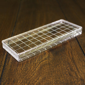 Catherine Pooler Acrylic Grid Stamping Block 2-1/2 x 6-1/8"