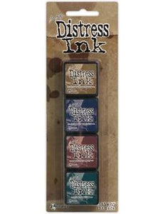 Tim Holtz Mini Distress® Ink Kit 12 | Serendipity Craft Boutique