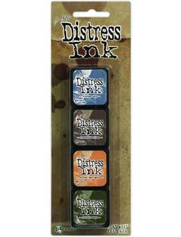 Tim Holtz Mini Distress® Ink Kit 9 | Serendipity Craft Boutique