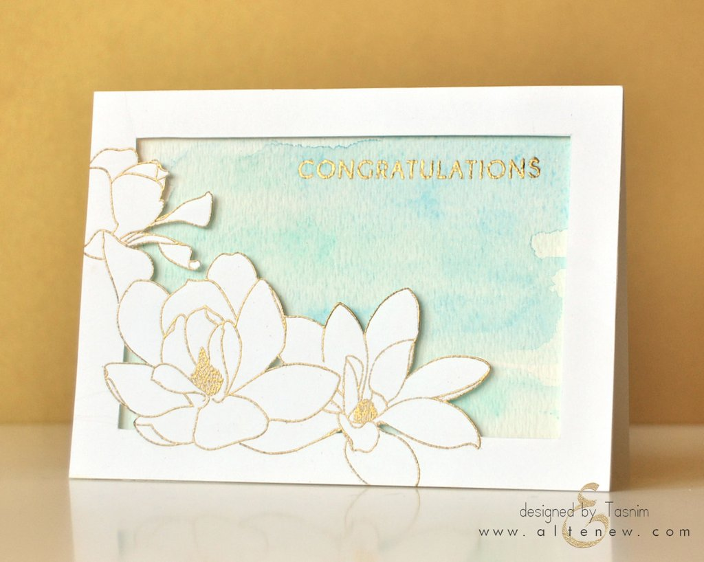 Altenew Magnolia For Her Stamp Set | Serendipity Craft Boutique