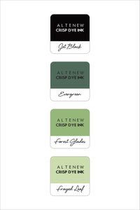 Altenew Green Fields Mini Ink Cube Set | Serendipity Craft Boutique