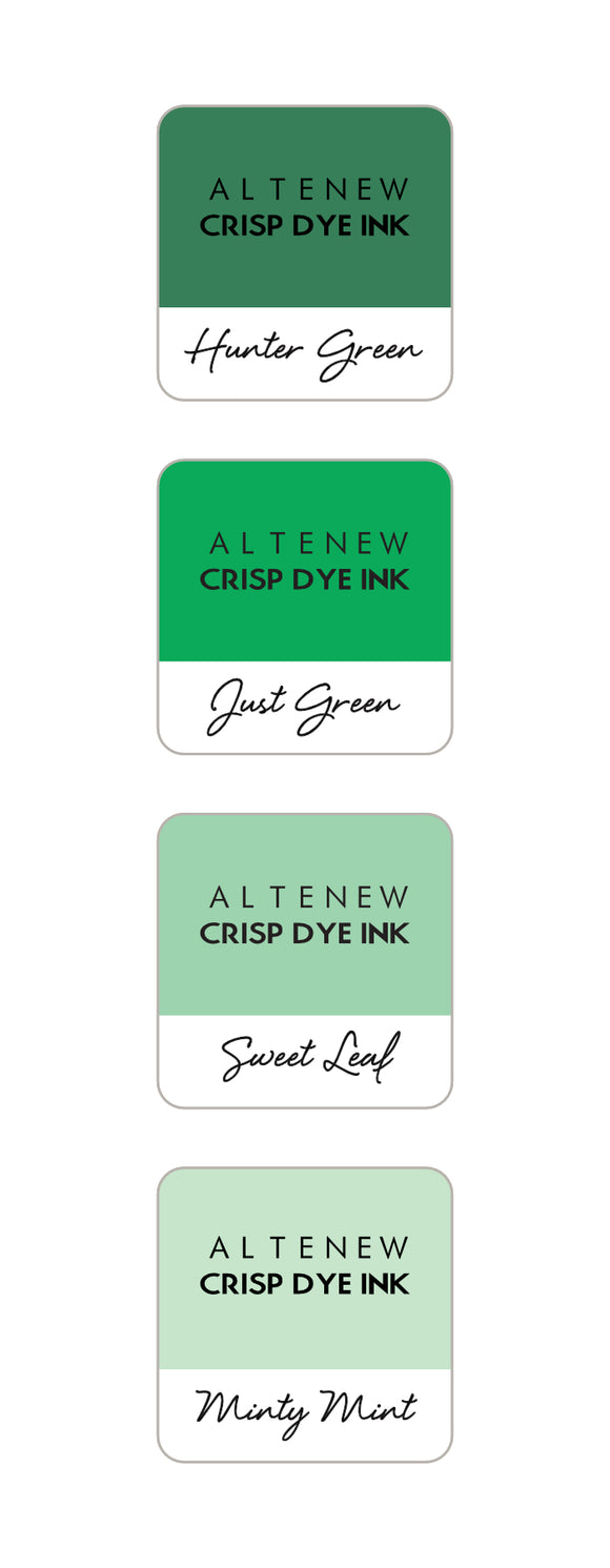 Altenew Green Meadows Mini Ink Cube Set | Serendipity Craft Boutique