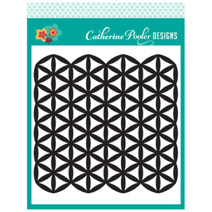 Catherine Pooler Mod Flowers Stencil | Serendipity Craft Boutique