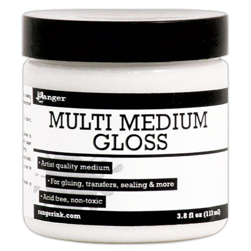 Ranger Multi Medium Gloss 3.8 fl oz | Serendipity Craft Boutique