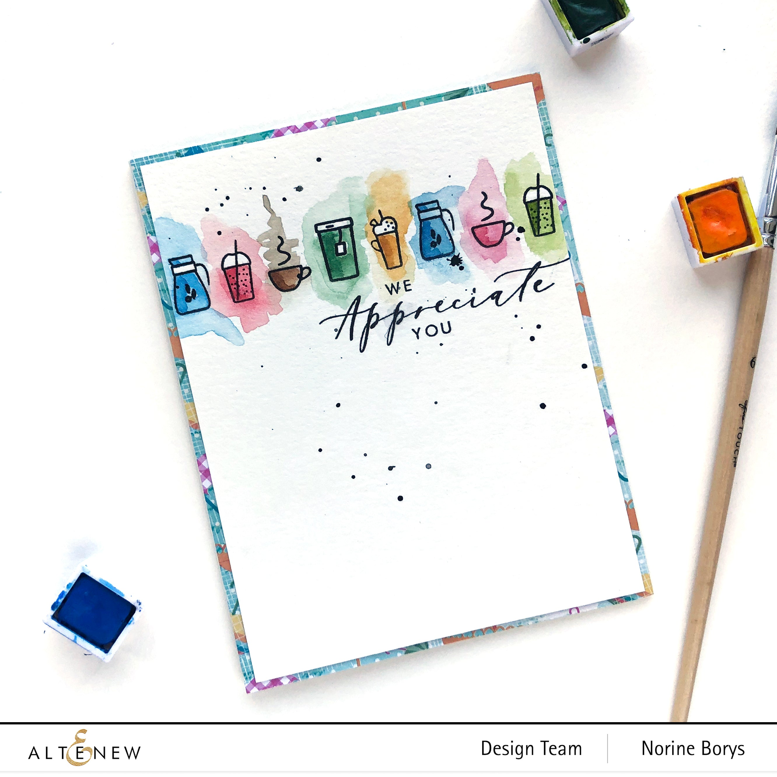 Altenew Thinking Of You Stamp Set By Stamping Village | Serendipity Craft Boutique