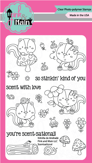 Pink & Main Scentsational Stamp Set | Serendipity Craft Boutique