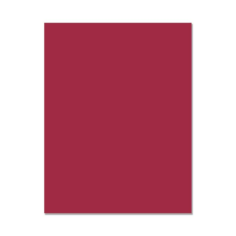 Hero Hues Premium Cardstock Cranberry | Serendipity Craft Boutique