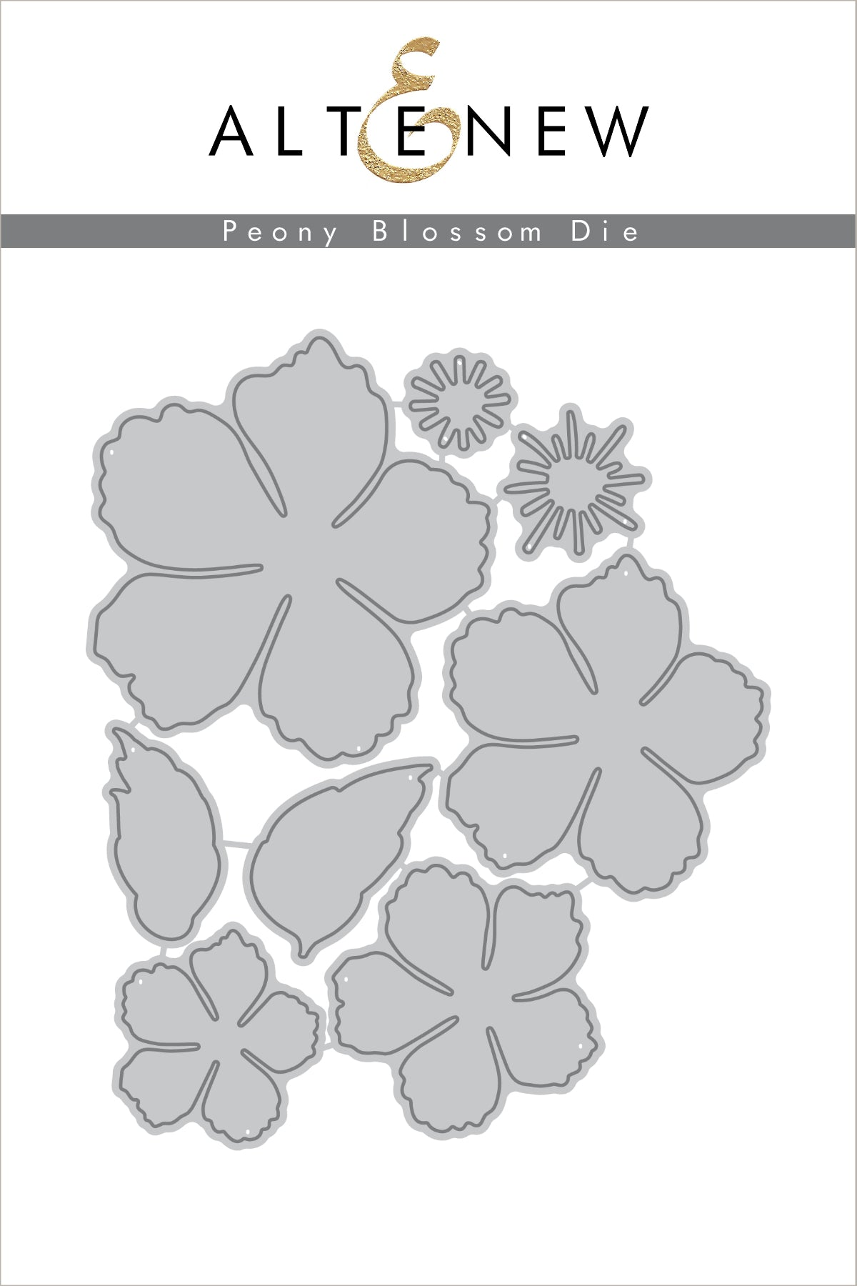 Altenew Build-A-Flower Peony Blossom | Serendipity Craft Boutique