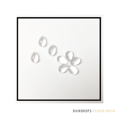 Studio Katia Clear Rain Drops | Serendipity Craft Boutique