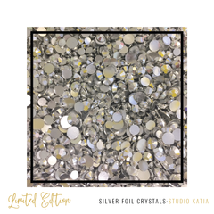 Studio Katia Silver Foil Crystals Mix | Serendipity Craft Boutique