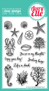 Avery Elle The Reef Stamp Set | Serendipity Craft Boutique