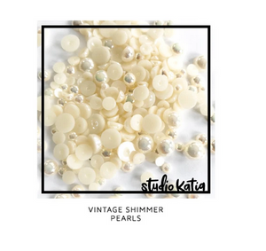 Studio Katia VINTAGE SHIMMER PEARLS | Serendipity Craft Boutique