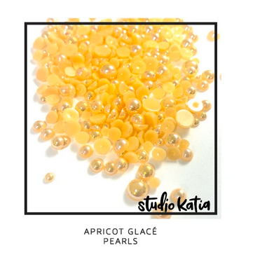 Studio Katia APRICOT GLACE PEARLS | Serendipity Craft Boutique