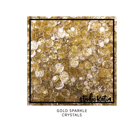Studio Katia GOLD SPARKLE CRYSTALS | Serendipity Craft Boutique