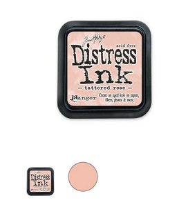 TIM HOLTZ DISTRESS® ®Ink Pad Tattered Rose| Serendipity Craft Boutique