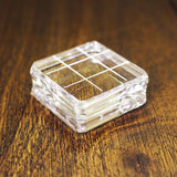 Catherine Pooler Small Square Acrylic Grid Stamping Block 1-1/2 x 1-1/2""