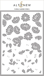 Altenew Floral Garden Stencil | Serendipity Craft Boutique