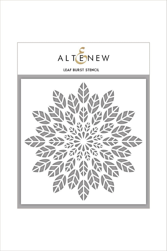 Altenew Leaf Burst Stencil | Serendipity Craft Boutique