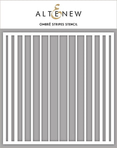 Altenew Ombré Stripes Stencil | Serendipity Craft Boutique
