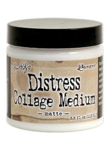 Tim Holtz Distress® Collage Medium Matte | Serendipity Craft Boutique