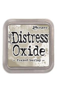 Tim Holtz Distress® Oxide Ink Pad Frayed Burlap | Serendipity Craft Boutique