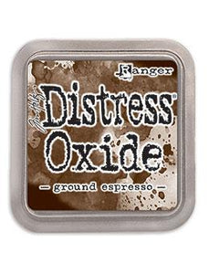 NEW! TIM HOLTZ DISTRESS® OXIDE® INK PAD GROUND ESPRESSO | Serendipity Craft Boutique