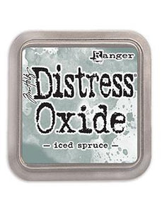 Tim Holtz Distress® Oxide Ink Pad Iced Spruce | Serendipity Craft Boutique