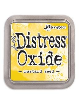 NEW! TIM HOLTZ DISTRESS® OXIDE® INK PAD MUSTARD SEED | Serendipity Craft Boutique