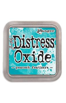 Tim Holtz Distress® Oxide Ink Pad Peacock Feather | Serendipity Craft Boutique